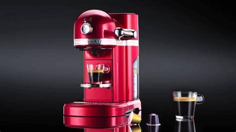 kitchenaid nespresso coffee maker youtube