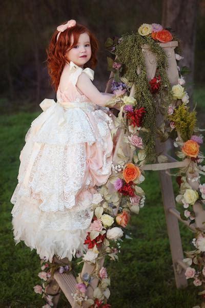 eternal fairytale  glamorous flower girl dress