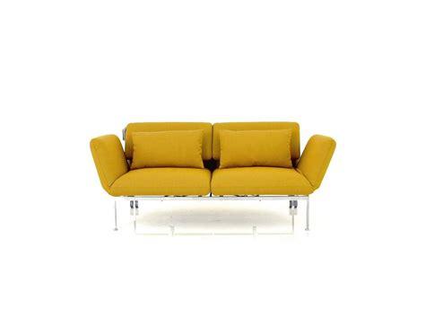Brühl Sofa by Br 252 Hl Roro Medium Sofa In Curryfarbigen Stoff Mit Rollen
