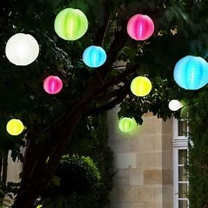 led solar hange lampen lampion lichterkette garten With feuerstelle garten mit solar lichterkette balkon