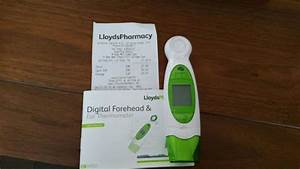 How To Use Lloyds Pharmacy Forehead And Ear Thermometer