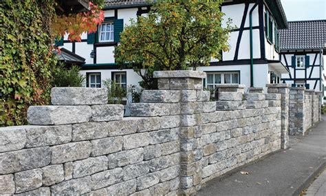 Gartenmauer Aus Beton by Gartenmauer Selbst De