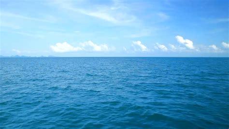 ocean view  blue sky stock footage video  royalty
