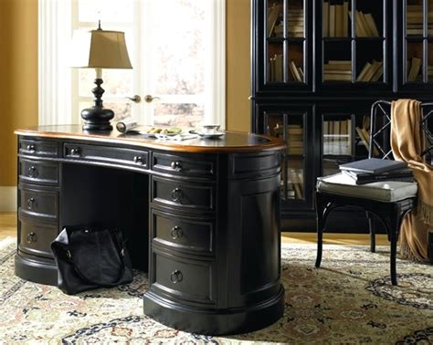 black home office desk black office desk furniture decosee com