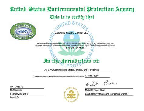 certifications licenses bonding insurance colorado