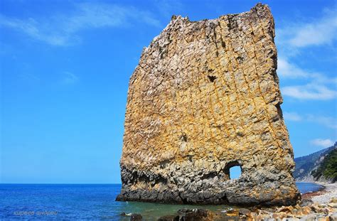 Parus (Sail) Rock - a natural monument near Gelendzhik ...