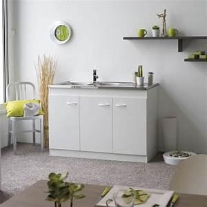Meuble Sous Evier 120 : meuble sous evier cuisine 120 achat vente pas cher ~ Nature-et-papiers.com Idées de Décoration