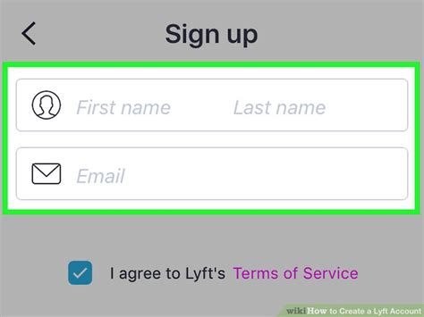 How To Create A Lyft Account