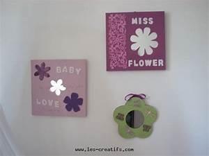 tableaux et miroir home deco pour bebe a fabriquer pour With affiche chambre bébé avec bouquet de fleurs saint valentin