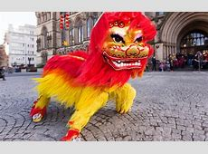 Chinese New Year Lion Dancing Creative Tourist