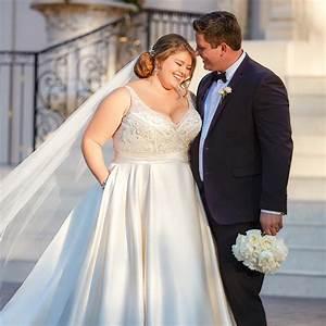 Die Schönsten Hochzeitskleider : brautkleider f r mollige die sch nsten plus size kleider ~ Frokenaadalensverden.com Haus und Dekorationen
