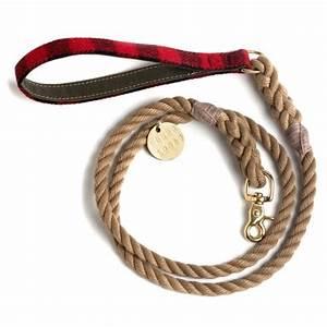 Collare per cane in corda nautica in Corda, Pelle, collari per cani, collari per cane Found My