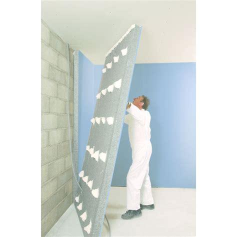 mur de couleur dans une chambre plaques de plâtre avec isolant en polystyrène placo