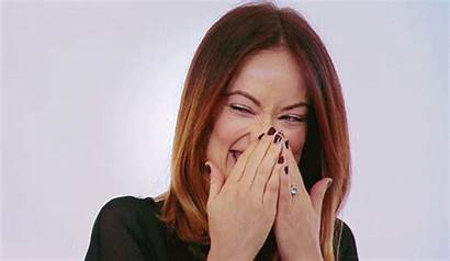 Olivia Wilde Giphy Gifs Animated Point Laughing
