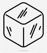 Ice Cube Coloring Clipart Pinclipart sketch template