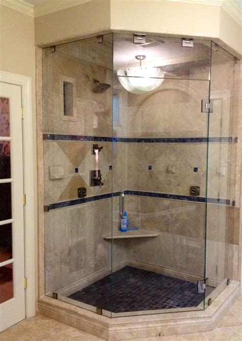 Luxury Bathroom Designs Custom Frameless Neo Angle Steam Shower Enclosure As Seen On Hgtv 39 S It Or List It