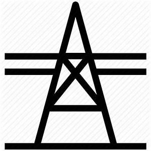 Electric pole, electricity, electricity pylon, power ...