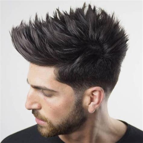 spiky hair  modern ways  wear spikes today men hairstyles world