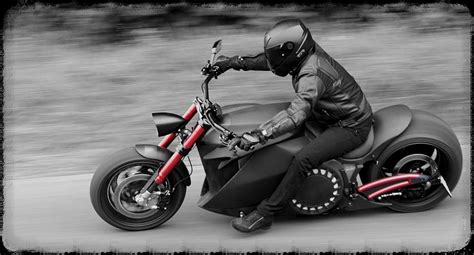 Electric Motorcycle Harley Style
