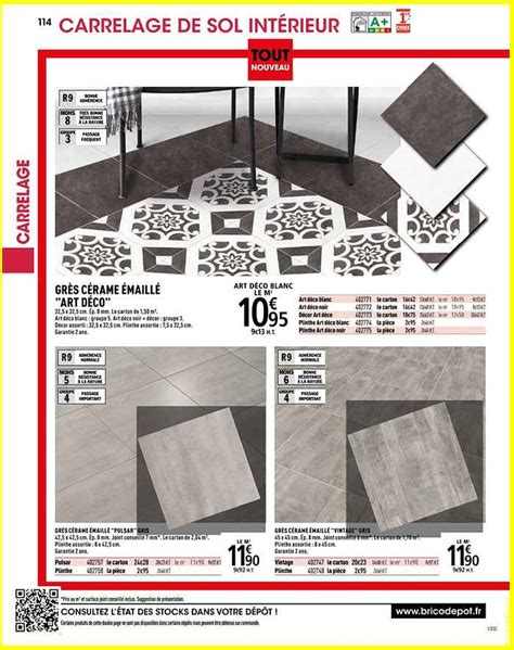 carrelage interieur brico depot carrelage interieur brico d 233 p 244 t l officiel du bricolage 2016 08 09