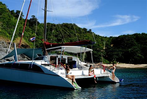 Catamaran Charter Thailand Phuket by Charter Catamaran Sy Full Steam Sailing Phuket