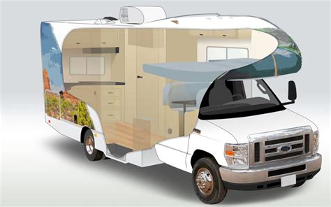 C19 Compact Motorhome rental of Cruise America in USA