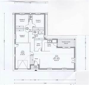 217 best plan maison images on pinterest floor plans With plan maison 110m2 etage
