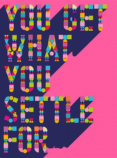 Illustrator Poster Vector Text Effect Geometric Illustration