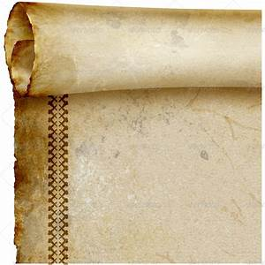 Parchment Scroll. Old Manuscript Paper by joiaco ...