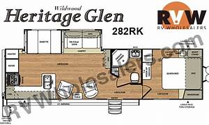 2015 Forest River Heritage Glen 282rk Travel Trailer