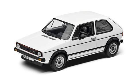 Modellauto 143 Vw Golf Gti 1973 Weiss Original