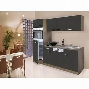 Küchenzeile 3 40 M : respekta k chenzeile 205 cm grau eiche york kaufen bei obi ~ Bigdaddyawards.com Haus und Dekorationen