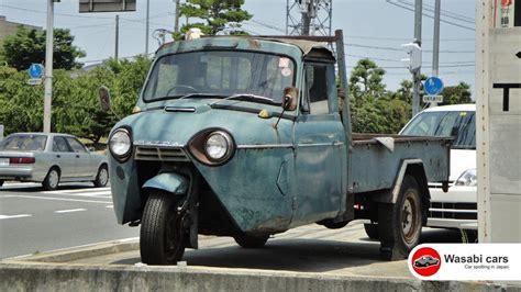 A Three-wheel Truck, The Mazda T1500 (1962)