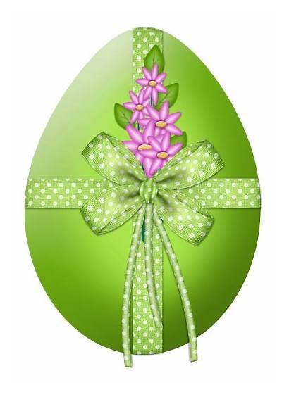Easter Clipart Flower Egg Transparent Decor Flowers
