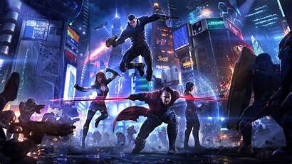 Cyberpunk 4k Heroes Wallpapers Artwork Artist
