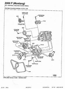 2005 Ford Mustang V6 Engine