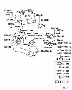 Engine Mounting  U0026 Support For 1986