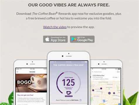 Joe is a mobile ordering application that allows you to support your favorite local coffee shop day after day. The Coffee Bean Rewards App Review: Free Brewed Coffee Or Hot Tea