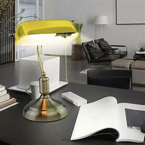 Lampenschirme Für Tischleuchten Vintage : vintage tischlampe mit glasschirm f r ihr arbeitszimmer vt 7151 unsichtbar lampen m bel ~ Bigdaddyawards.com Haus und Dekorationen