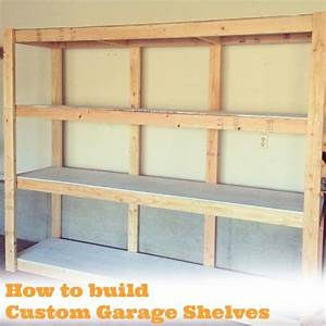 build wood storage shelves basement woodworking projects With how to make garage shelves