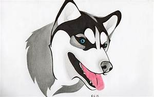 "Dibujando a ""Husky"" YouTube"