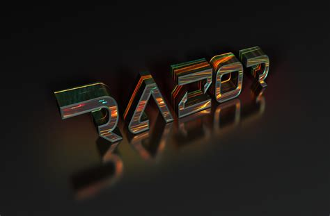 colorful text razor wallpapers hd desktop