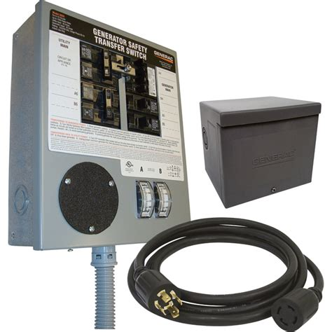 free shipping generac prewired manual transfer switch expands to 10 circuits 30 s