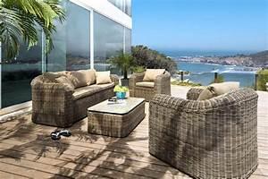 Promo Salon Jardin : salon bas sumatra salon de jardin carrefour ~ Teatrodelosmanantiales.com Idées de Décoration