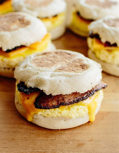 how to make breakfast how to make freezer friendly breakfast sandwiches cooking lessons from the kitchn the kitchn