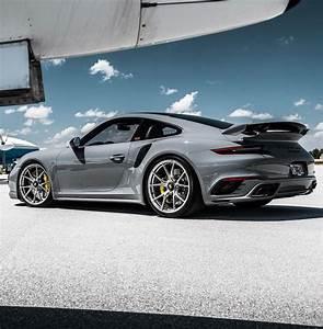 @mmaraj 'S PTS Nardo Grey .2Turbo S. Lowered on @championmotorsport / @vossen wheels. #porsche ...