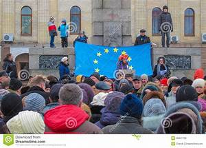 Euromaidan Kirovohrad Editorial Stock Image  Image Of Power