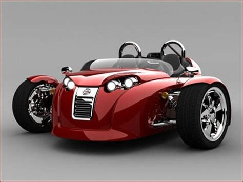 Three Wheel Sports Car