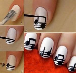 Go to the nail salon you need be creative and do your nails here is
