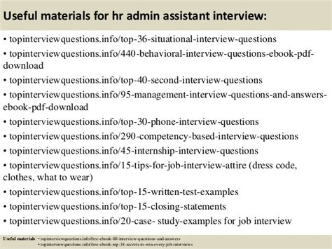Questions And Answers For Hr Assistant Position by Top 10 Hr Admin Assistant Questions And Answers